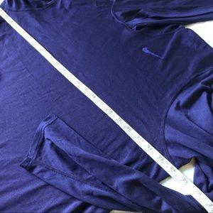 Nike Tops - Nike hoodie purple Dri-fit size Large